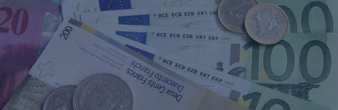 Swiss Franc - Euro Currency Converter